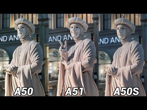 Samsung Galaxy A51 Vs A50S Vs A50 Camera Comparison Test! Surprising Results