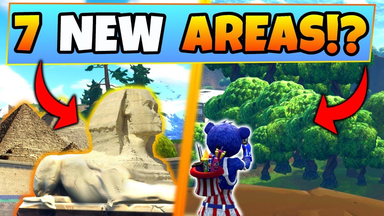 Fortnite Season 5 7 New Area Map Possibilities Battle Royale