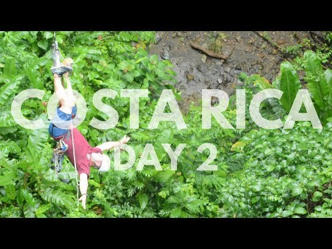 Costa Rica Vacation Vlog Day 2 | Travel on a Budget