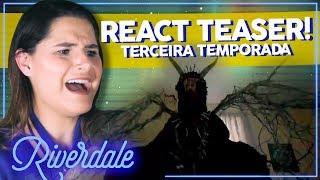 TRAILER 3 TEMPORADA DE RIVERDALE! REAGINDO AO TRAILER (React) | Alice Aquino