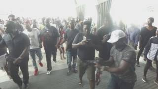 Flowking Stone mobbed at the Kumasi City Mall