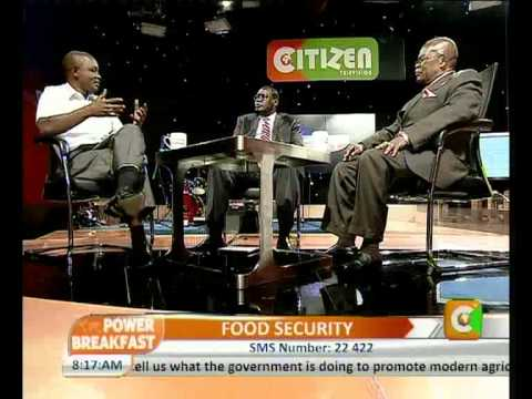 Power Breakfast Interview with James Nyoro-Senior Adviser,Food Security Part 2