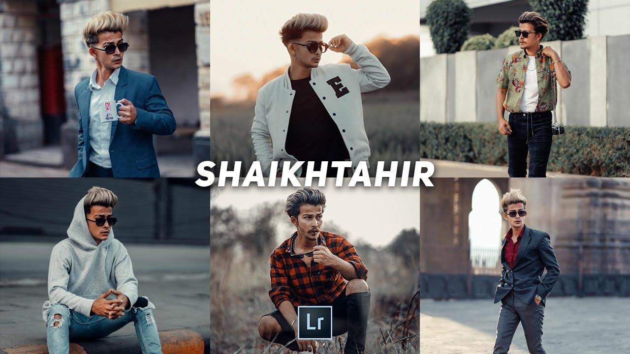 How to edit like @shaikhtahir in lightroom mobile | lightroom mobile presets free dng