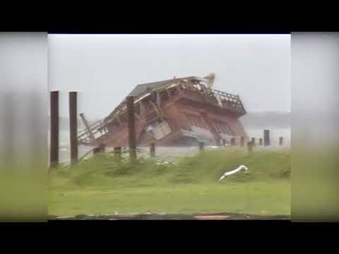 Hurricane Alicia was last Cat 3 hurricane to hit Galveston