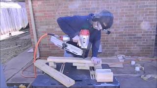 Build An Adjustable Lumber Rack From Scrap 2x4s    Mikes Inventions