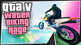 GTA 5 Online - Biking On Water (Ragequit Races)