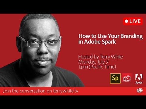 How to Use Your Own Branding in Adobe Spark