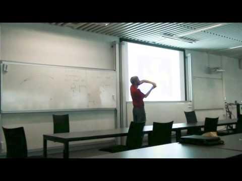Foredrag i raadighedsblok om propeller