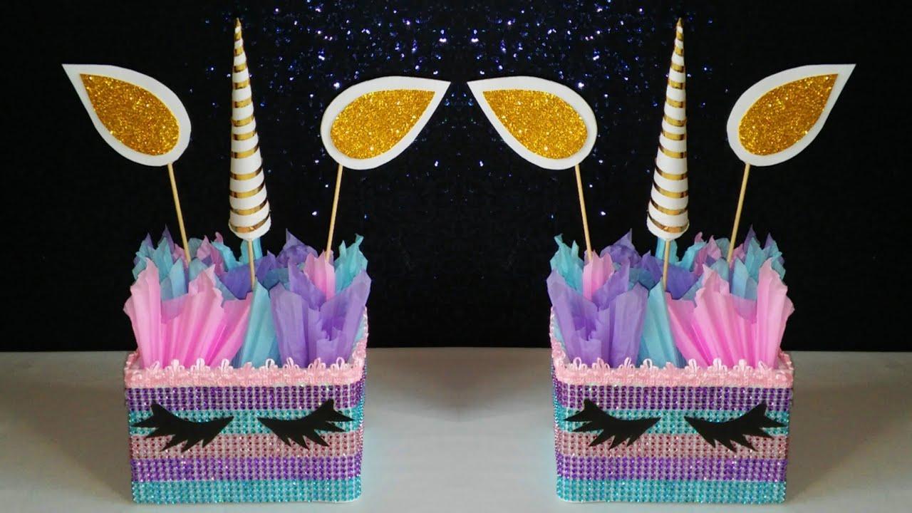 Decoracion de unicornio youtube for Decoracion para la pared de unicornio