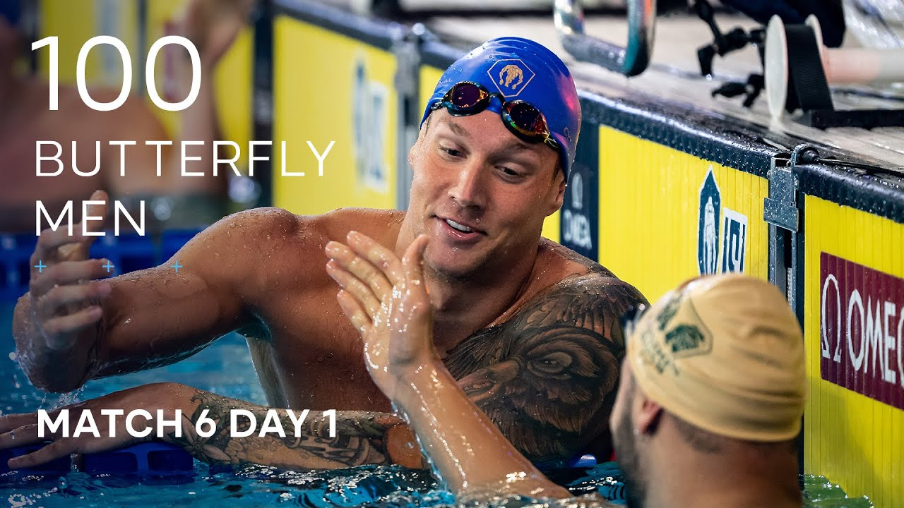 Download ISL SEASON 3 | MATCH 6 DAY 1 Men's 100m Butterfly