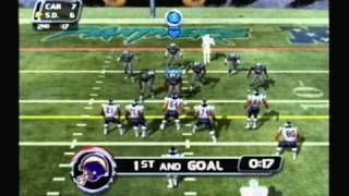 NFL Blitz 2002 Gameplay #1 - Panthers vs Chargers