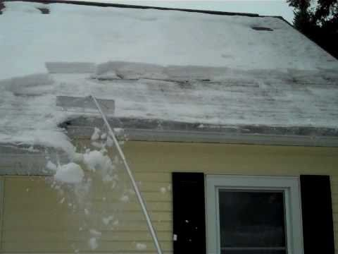 The Roof Rake Preventing Ice Dams Handy Andy Realtor
