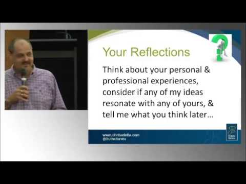 Australian Counselling Association: Conference Keynote (intro) 2013 Dr John Barletta