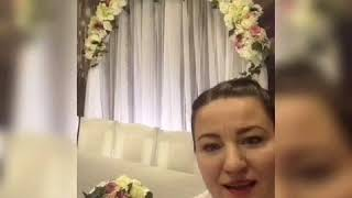 Установка свадебных декораций с аркой.