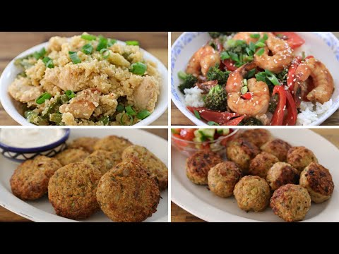 4 Healthy Easy Dinner Recipes