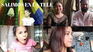 Salimos en la Tele - Nos quedamos ESTANCADOS -Vlog 81 -Vivir en la India Vlogs