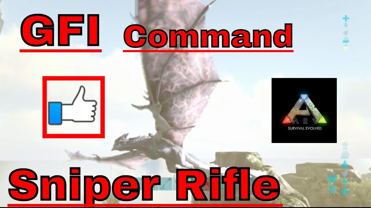 How to spawn fabricated sniper rifle gfi command ark xbox one youtube how to spawn fabricated sniper rifle gfi command ark xbox one malvernweather Gallery