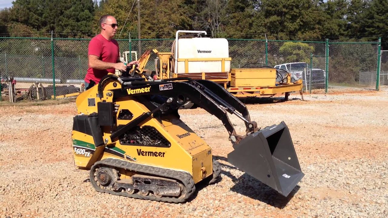 Mini Skid Steer : Vermeer s tx mini skid steer for sale hours