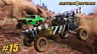 MotorStorm - Playthrough Gameplay Ps3 - Level 3 - Tenderloin PART 15