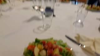 Ланч в Игелесе - салат из овощей и фруктов
