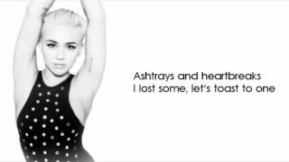 Ashtrays And Heartbreaks - Snoop Lion ft. Miley Cyrus - Lyrics
