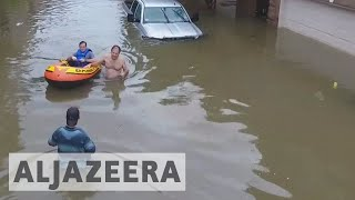 Hurricane Harvey: Flooding to continue in Houston