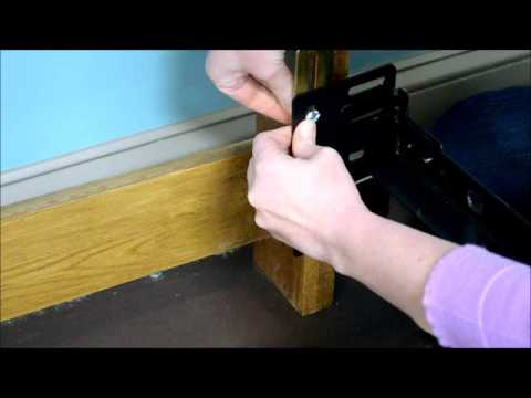 how to use a regular bed frame with a hook headboard youtube - Bed Frame For Headboard And Footboard