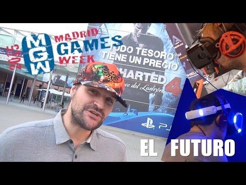 El futuro de los videojuegos en MADRID GAMES WEEK 2015 | Reportaje by davrix23