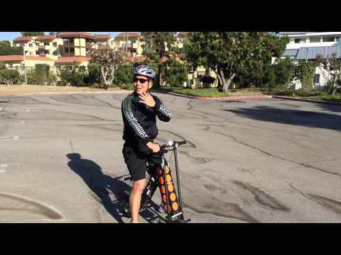 How fast does an URB-E electric scooter really go?