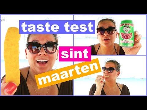 ST MAARTEN FOOD TASTE TEST | SINT MAARTEN | VIVIAN REACTS