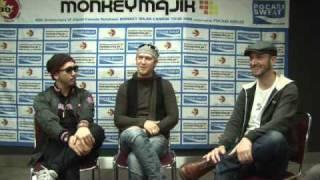 Interview with Monkey Majik.