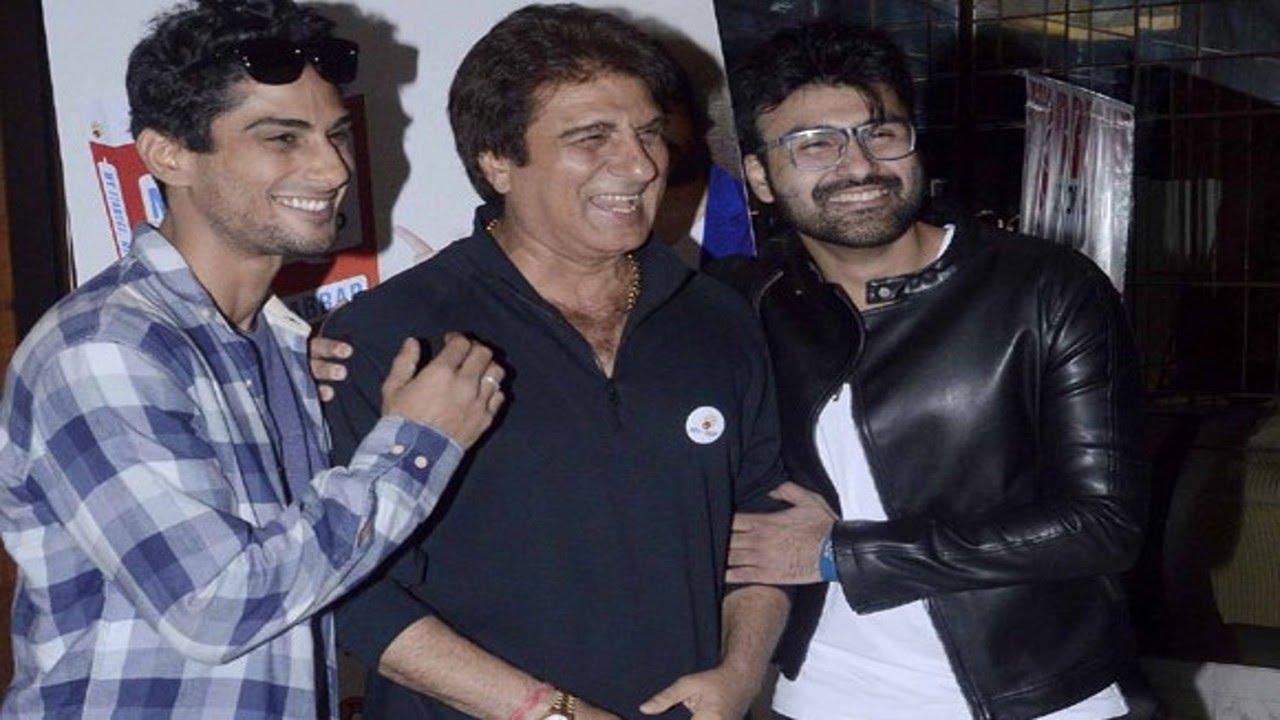 Aarya Babbar : Raj Babbar poses with Sons Prateik and Arya ...   Prateik Babbar Arya Babbar