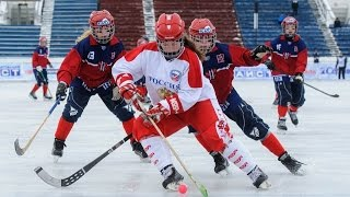 Russia — Norway, Girls Bandy World Championship U-17, Irkutsk, Russia