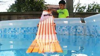 Hot Wheels Oyuncak Arabalar   Keremin Seçtikleri   3. Bölüm Havuz Yarışı