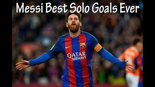 Lionel Messi best solo goals ever English Commentary