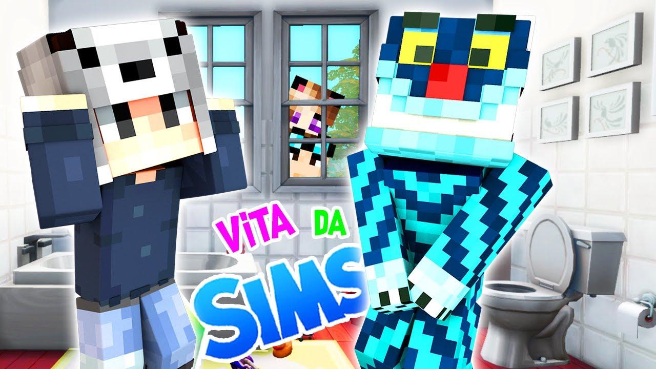 IO E LYON CHIUDIAMO ALEX E GIORGIO IN BAGNO! 😋 - Vita da Sims #23