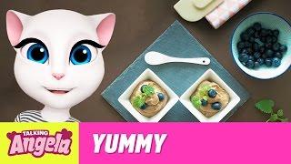 Talking Angela - Easy Vegan Chocolate Mousse (Yummy Recipe)