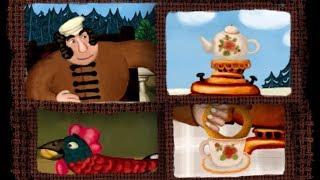 Сказки - Мультики для детей | Гора самоцветов - Большой петух