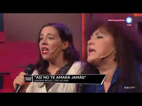AMANDA MIGUEL EN ARGENTINA  EL ME MINTIÓ Y ASÍ NO TE AMARA JAMAS