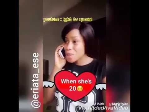 Edo girl is here again with the best comedy skit ever
