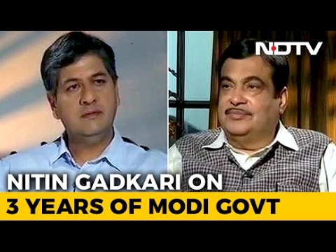 'Finishing 5 Years Our 1st Test': Nitin Gadkari On 3 Years Of Modi Government