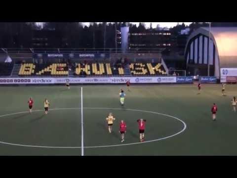 Bærum vs Lillestrøm, Adidas Cup jenter 00/99, andre omgang