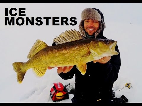 How To Ice Fishing Alberta Ice Monsters