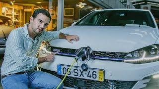 Volkswagen Golf GTE. Poupado? Depende.