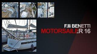 F.lli Benetti MotorSailer 16 - Barca usata in vendita, yacht a vela del cantiere F.lli Benetti