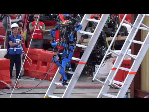 "[DARPA Robotics Challenge]SCHAFT S-ONE ""Ladder"" Trial"