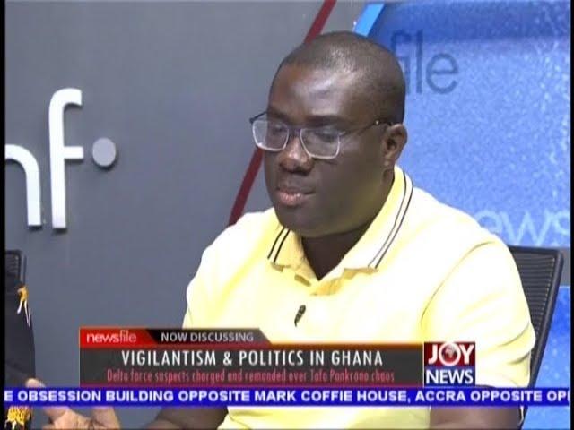 Vigilantism & Politics in Ghana - Newsfile on JoyNews (13-10-18)