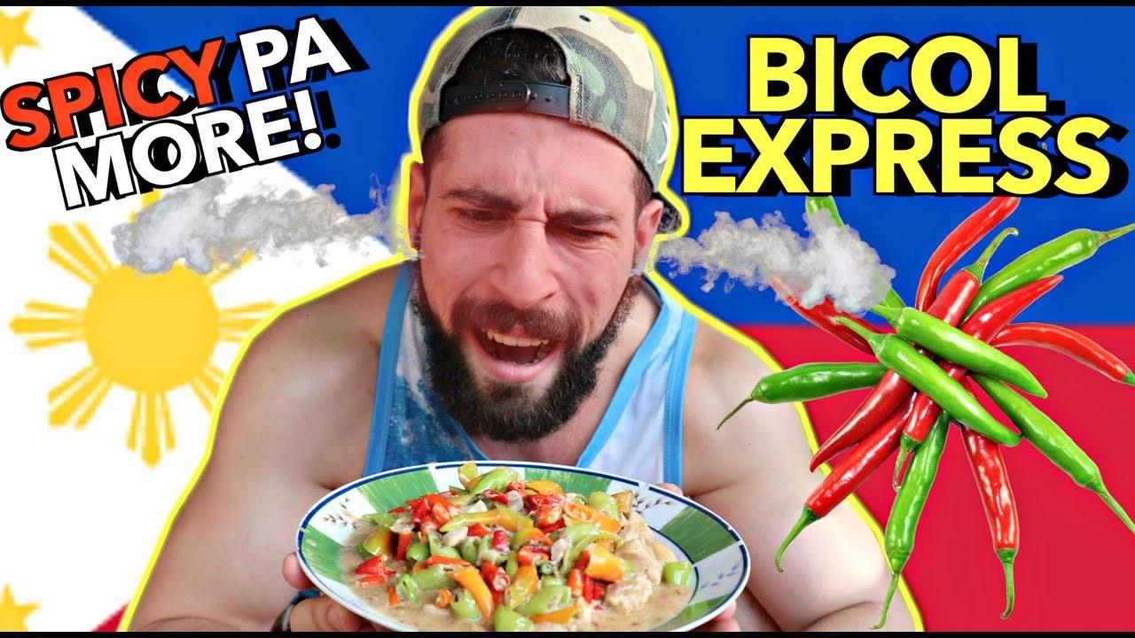 cooking-eating-bicol-express-gata-bagoong-first-time