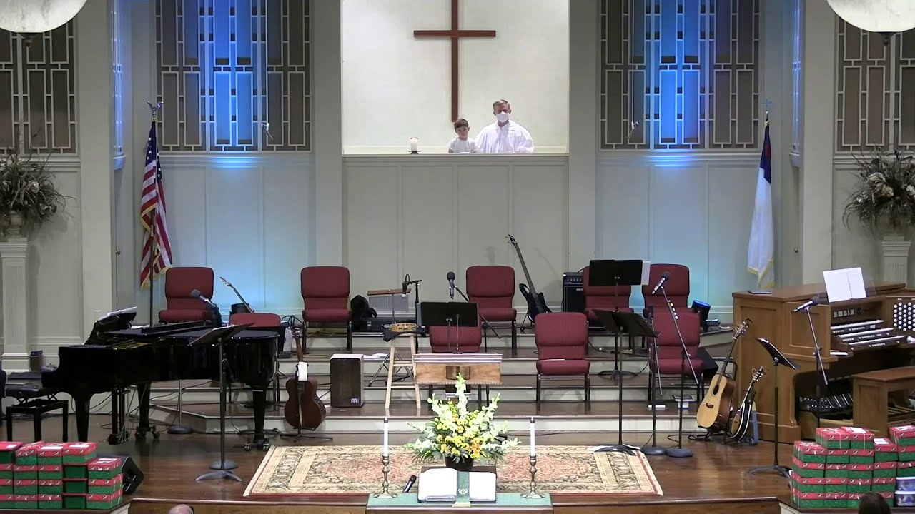 November 15, 2020 Service [Trimmed] at First Baptist Thomson, Streaming License 201531172