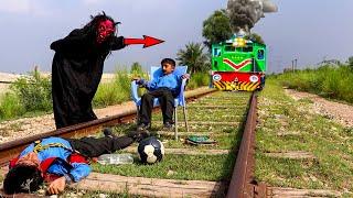 Aik New Video Shaitan Vs Kids   New Moral Stories For Kids   Shaitan Vs Train   Shaitan Ki Chalein
